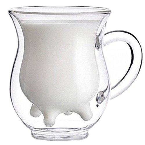 250ml Handcraft Borosilicate Glass Cup Creative Cute Tea Milk Cup Coffee Glass Cup