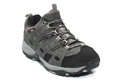 Mr. Shoes - Zapatillas de senderismo de Material Sintético para hombre Gris gris