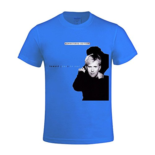 Howard Jones One To One Men's O-Neck Personal Tee Shirts - Blues Miles To Brothers Chicago