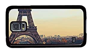 Hipster Samsung S5 Case sparkly eiffel tower background PC Black for Samsung S5