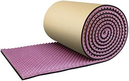 ホテルの音響パネル、5平方メートル/棒色の自己粘着性のスタジオの吸音性の綿を取付けること容易 (Color : Purple)