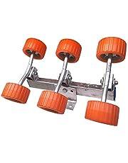 Todoneumaticas Rodillos oscilantes 6 Ruedas para remolques náuticos y compatibles