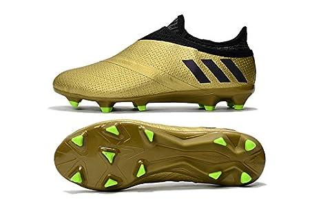 Scarpe da calcio da calcio Messi 16 + Pureagility FG in oro