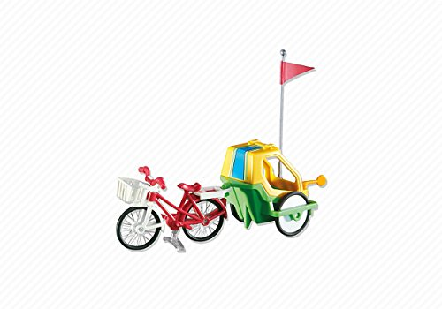 - Playmobil Add-On Series - Bike with Child's Trailer