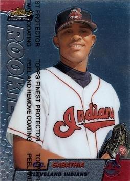 1999 Topps Finest Baseball 294 CC Sabathia Rookie Card