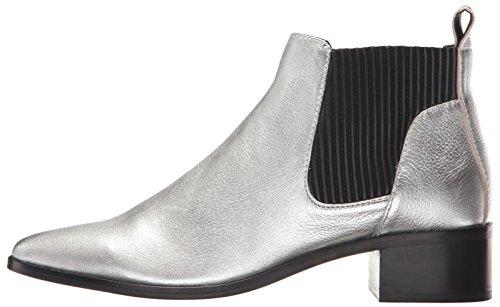 Dolce Vita Women's Macie Fashion Boot, Silver Leather, 7.5 Medium US by Dolce Vita (Image #5)