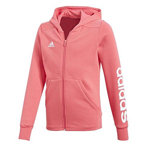 Rose Hd Adidas rosrea Multicolore Fille Linear Fz Yg blanc Sweatshirt Blanco Pour AA8tqZ