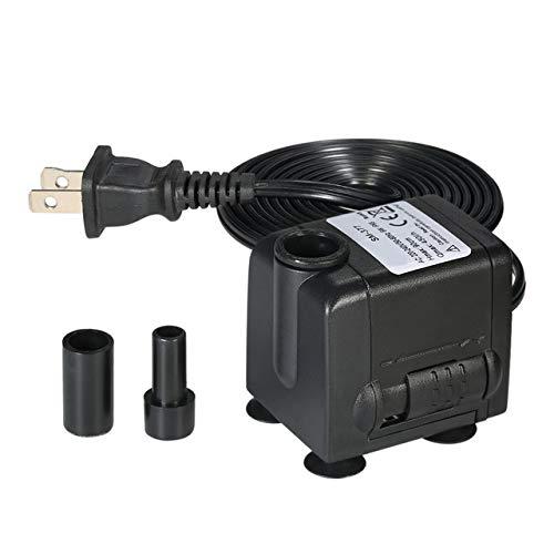 Bombas, piezas y accesorios 450L/H 6 W sumergible mini bomba de agua para acuario mesa fuentes estanque agua jardines y...