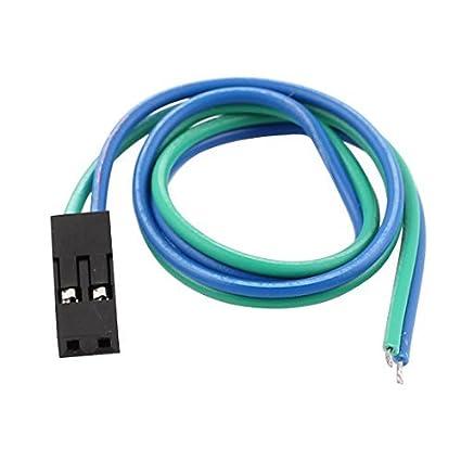 eDealMax Cable de Cinta Mujer 2P Cable de acoplamiento de Pi Pico de tablero de bricolaje