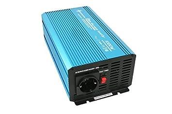Mini Kühlschrank Mit Spannungswandler Betreiben : Spannungswandler sinus watt v amazon elektronik