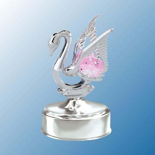 激安通販 Chrome Mini - Swan Music Box Box - Swan Pink. Crystal B005LKKLQW, Foot-Luck:1c730b56 --- arcego.dominiotemporario.com