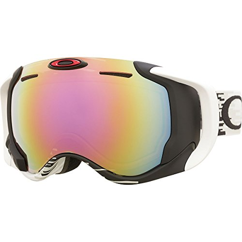 Oakley Airwave Snow Goggles Hyperdrive / Fire - Oakley Polarized Ski Goggles