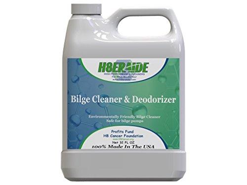 - H8eraide Boat Bilge Cleaner & Deodorizer 32oz - Leaves Behind a Fresh Scent and a Clean Bilge - Environmentally Safe - Bilge Pump Safe