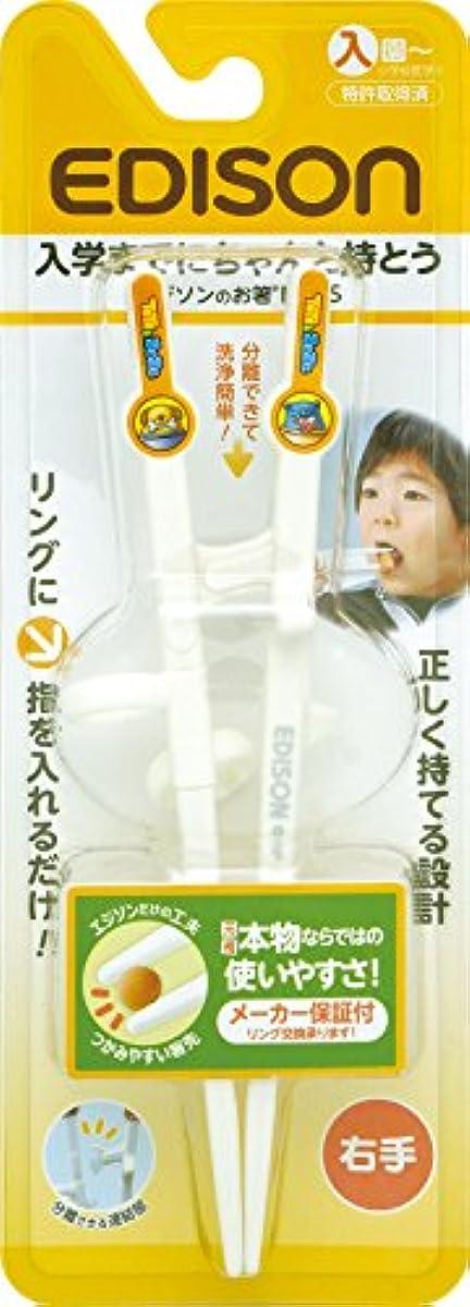 [해외] 에디슨마마 아이용 젓가락 오른손용