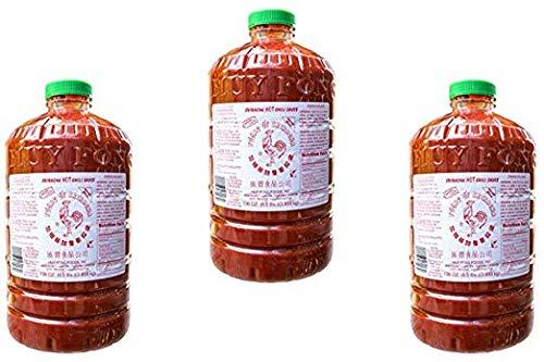 Huy Fong Sriracha, 136 Fl Oz (3 Pack)