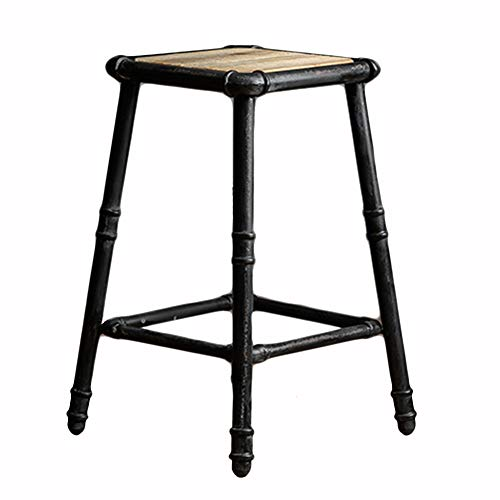 Awesome Amazon Com Liqicai Bar Stool Iron Pipe Industrial Vintage Evergreenethics Interior Chair Design Evergreenethicsorg