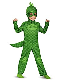 Gekko Classic Toddler PJ Masks Costume, Large/4-6