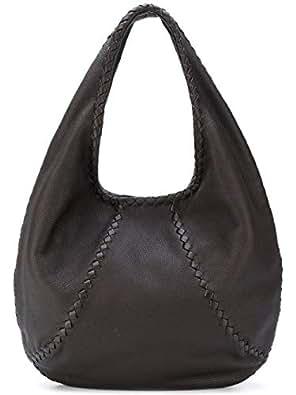 Amazon.com  Bottega Veneta Cervo Large 212741vq920 Espresso Hobo Bag ... 6d17c68eee9ee