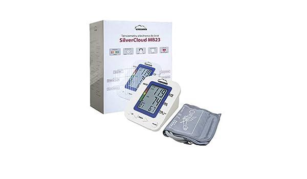 SilverCloud Mb23 Tensiómetro con Brazo, Unisex Adult, Blanco, 141 x 121 x 82 mm / 816 g: Amazon.es: Deportes y aire libre