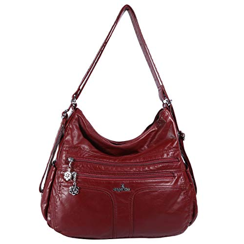 Red Satchel Handbags - 8