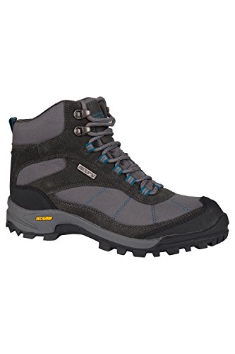 Grey Mountain Warehouse Boots Womens Ladies Hiking Hurricane Shoes x0BqfvR