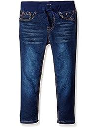 Girls' Knit Waist Skinny Denim Jean