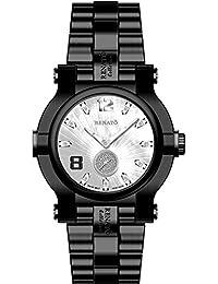 Beast Diamond Black IP Watch White Dial