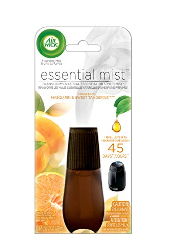 Air Wick Essential Oils Diffuser Mist Refill, Mandarin & Sweet Orange, 1ct