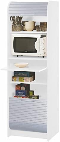 SIMMOB NANTES260BLA - Mueble de Cocina para microondas, Paneles de ...