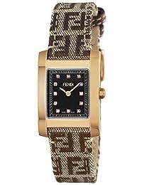 FENDI watch Classico Brown dial diamond F704222DF