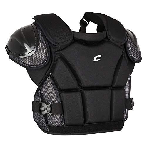 Champro Pro Plus Umpire Chest Protector (Black, X-Large)