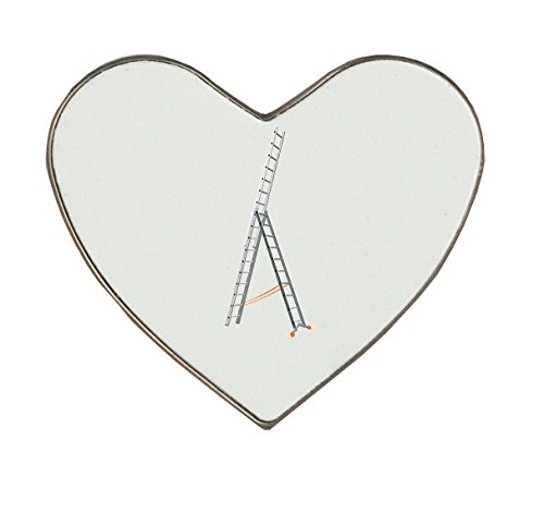 Aluminium Triple Section Extension Ladder. heartshaped fr...