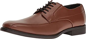 Calvin Klein Mens Edgar Shoes (Size 7 to 11.5) (British Tan)
