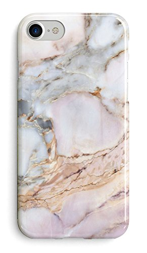 Recover Gemstone Marble iPhone 8 Case/iPhone 7 Case/iPhone 6 Case (NOT Plus). Soft Rubber Silicone Cover for iPhone 8/7/6 (Gemstone)