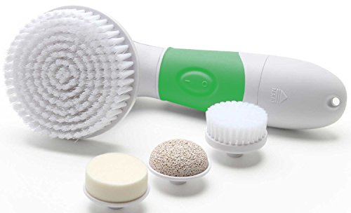 4-in-1-waterproof-facial-and-body-cleansing-brushing-system-green