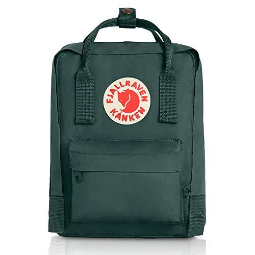 Fjallraven - Kanken Mini Classic Backpack for Everyday, Forest Green