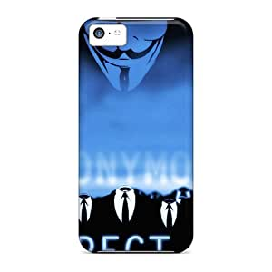 LJF phone case [JRwnUAk4321ICWIn] - New Anonymous Protective iphone 4/4s Classic Hardshell Case