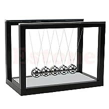 Kocome Newton's Smart Cradle Steel Balance Ball Physics ScienceDesk Pendulum Toy Gifts
