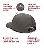 Mountain Embroidered Dad Hat – Adjustable Soft
