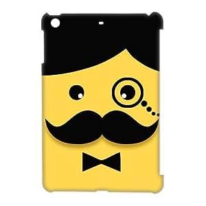 Custom Your Own Personalized Funny Mustache Face Ipad Mini Case, Snap On Hard Protective Mustache Ipad Mini Case Cover