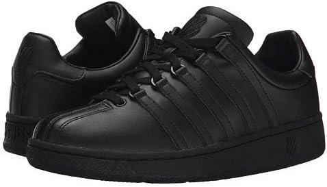 メンズテニスシューズ・スニーカー・靴 Classic VN Black/Black 12 30cm 3E - Extra Wide [並行輸入品]