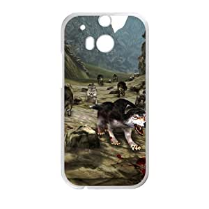 Creative Phone Case wolf For HTC One M8 I567175