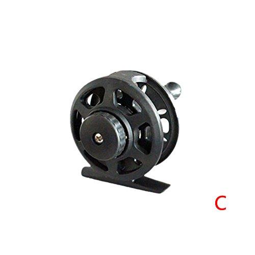 Luxsea Mini Short Retractable Fishing Rod Glass Fiber Reinfo