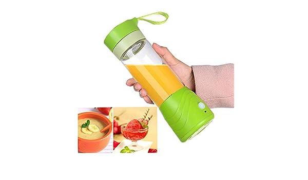XVCHANGQING Exprimidor Exprimidor de jugo eléctrico portátil de ...