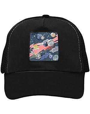 Unisex Beautiful Galaxy Universe Adjustable Classic Hiphop Hat Baseball Cap Snapback Dad Hat