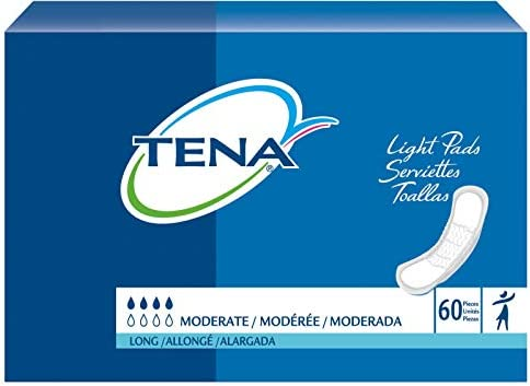 Sca Personal Care Inc Sq41409 Tena Moderate Absorbency Long Pad,Sca Personal Care Inc - Bag 60
