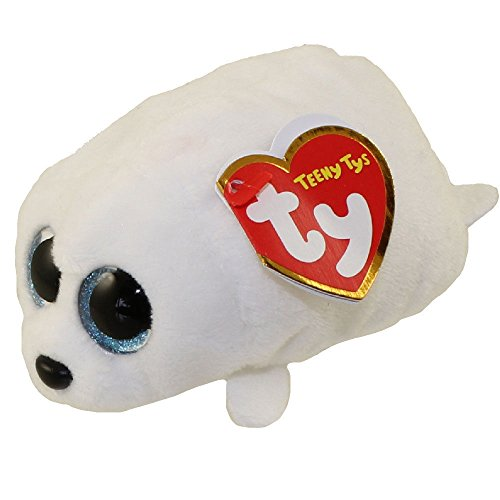 TY Beanie Boos - Teeny Tys Stackable Plush - SLIPPERY the Seal (4 inch)
