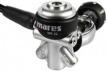 Size INT Mares Abyss 22X Regulator Grey
