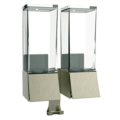 Better Living Products 82369 Linea Luxury Shower Dispenser Brushed Nickel