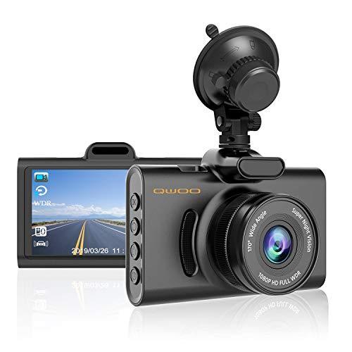 QWOO Dash Cam,1080P FHD 3.0